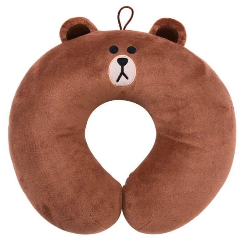 LINE FRIENDS Travel Pillow Choco