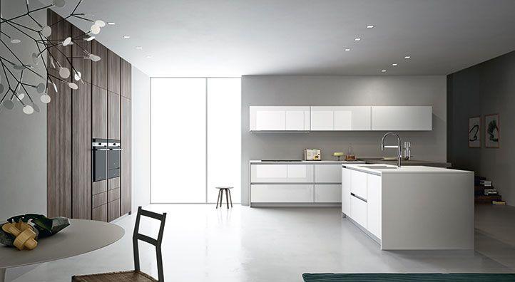 Cucina modulare di qualità, Cucina con pareti attrezzate   CUCINE ...