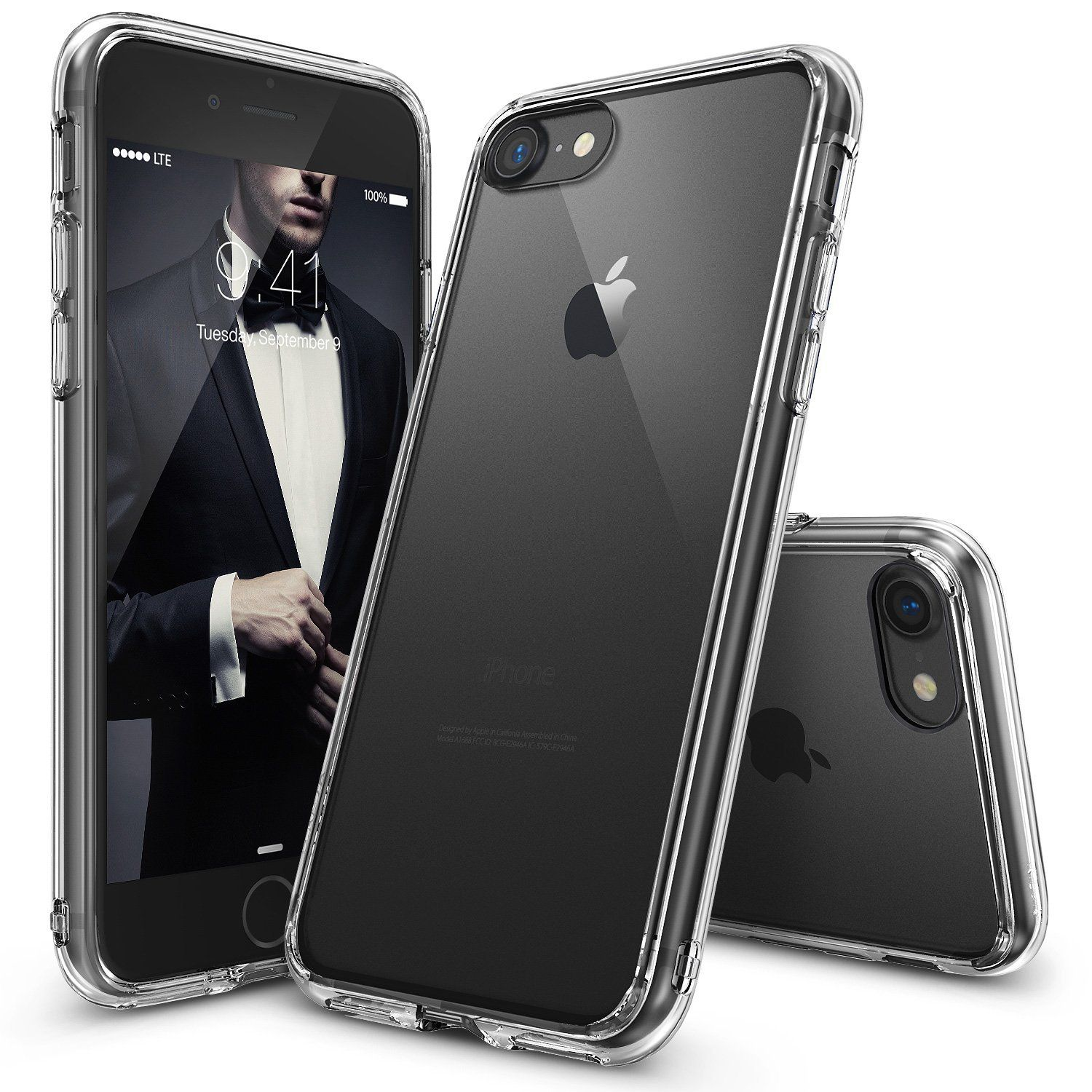 free shipping 66549 a32bf IPhone 7 Case, JETech Apple IPhone 7 Case Cover Shock-Absorption ...