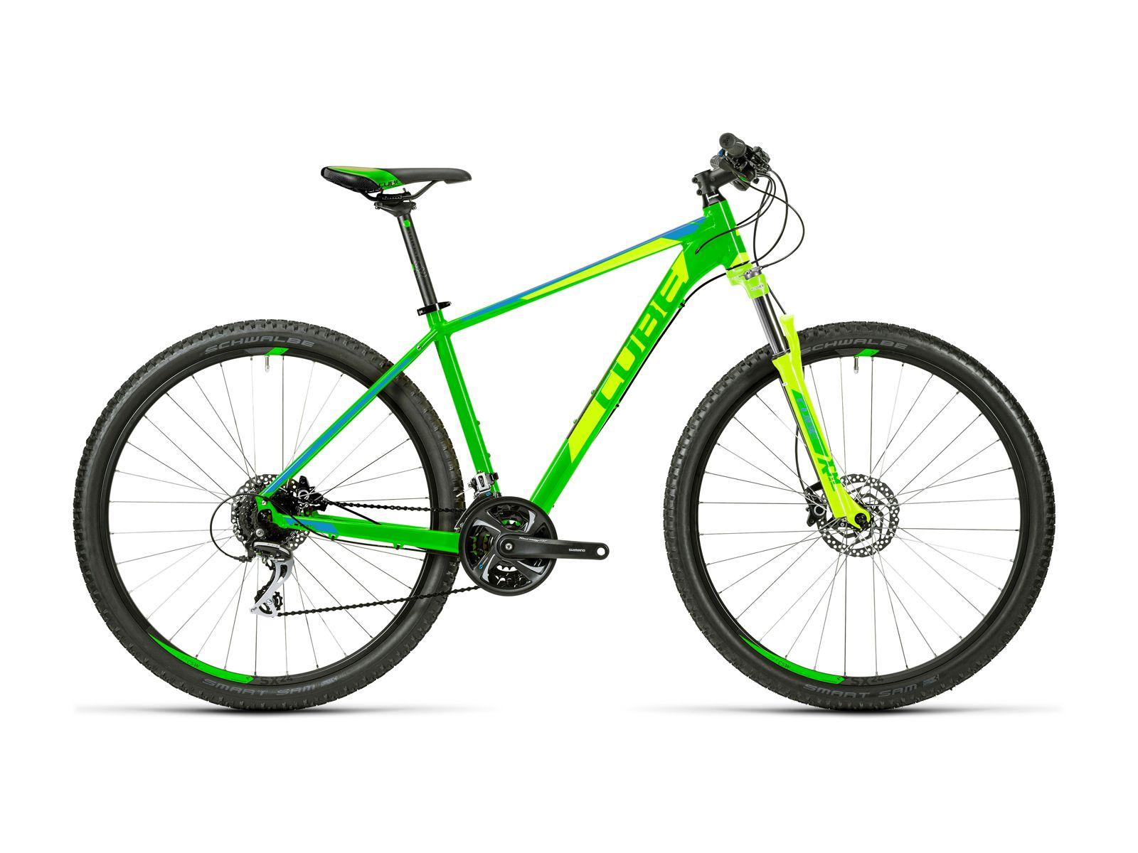 Cube Aim Mountainbike Fahrrad Fahren Fahrrad