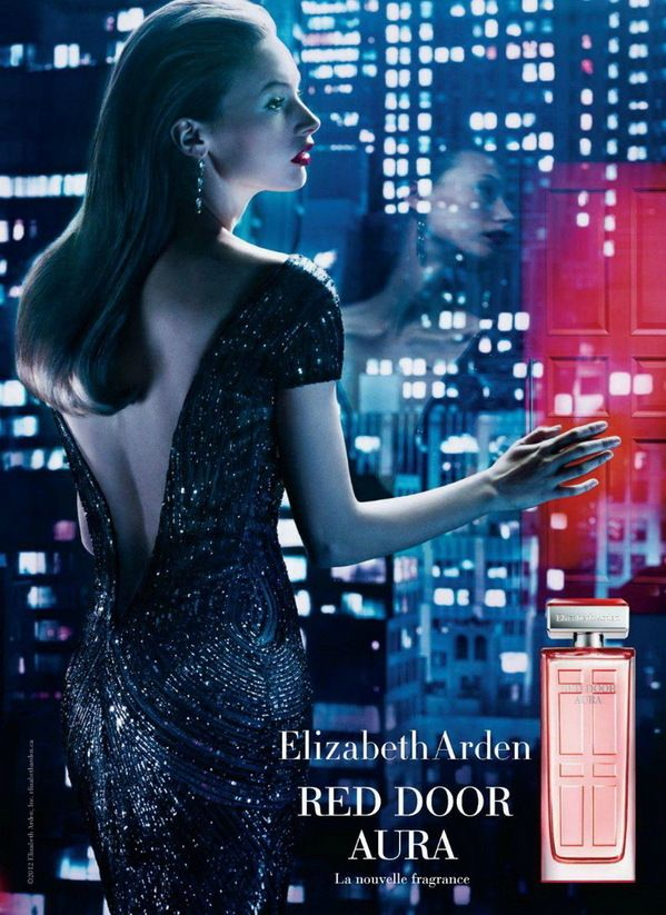 Elizabeth Arden Red Door Aura Perfume Ad