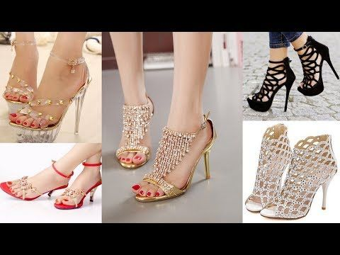 e48770ef6 Beautiful Sandals Heels Designs - Latest Stylish Fashions Womens Sandals -  YouTube