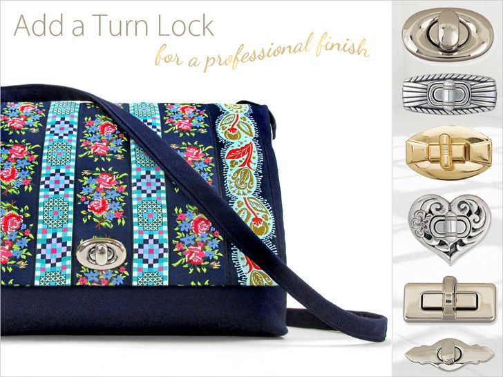How to Insert a Turn or Twist Lock Closure | Sew4Home