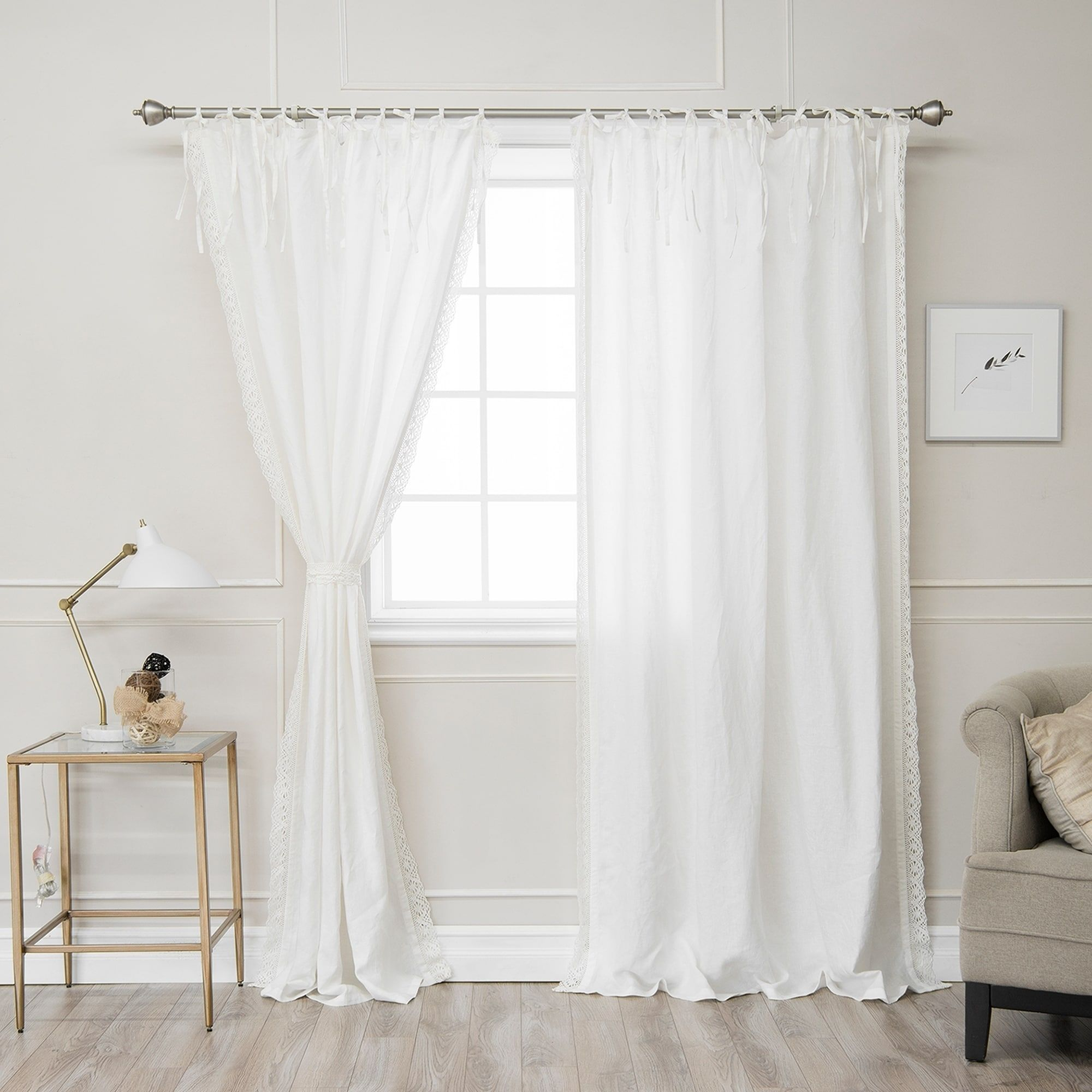 Online Shopping - Bedding, Furniture, Electronics, Jewelry, Clothing & more | Tie top curtains ...