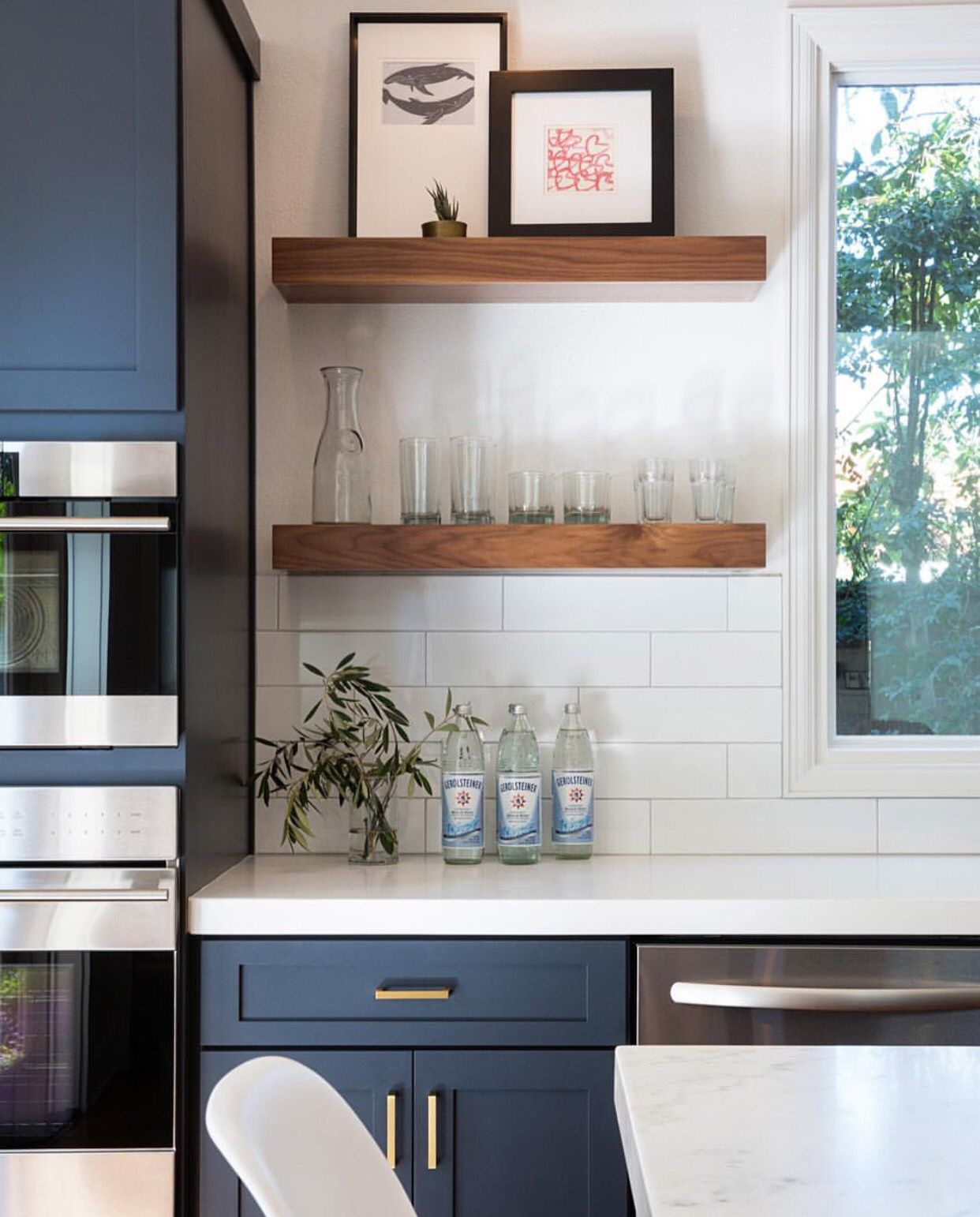 Cabinetry Kitchen Remodel Small Home Kitchens Floating Shelves