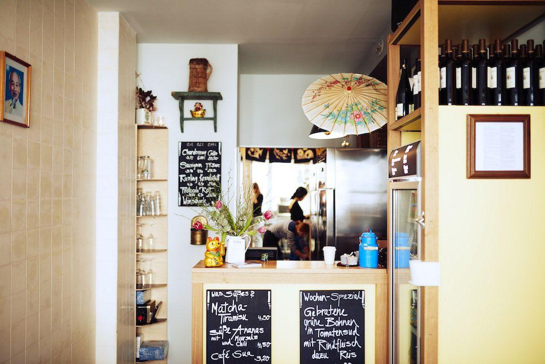 Das Ja Mai als eines der kleinsten Restaurants in München hat es als