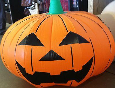 5\u0027 Inflatable Pumpkin 5 Foot Lighted Indoor Outdoor Halloween - outdoor inflatable halloween decorations
