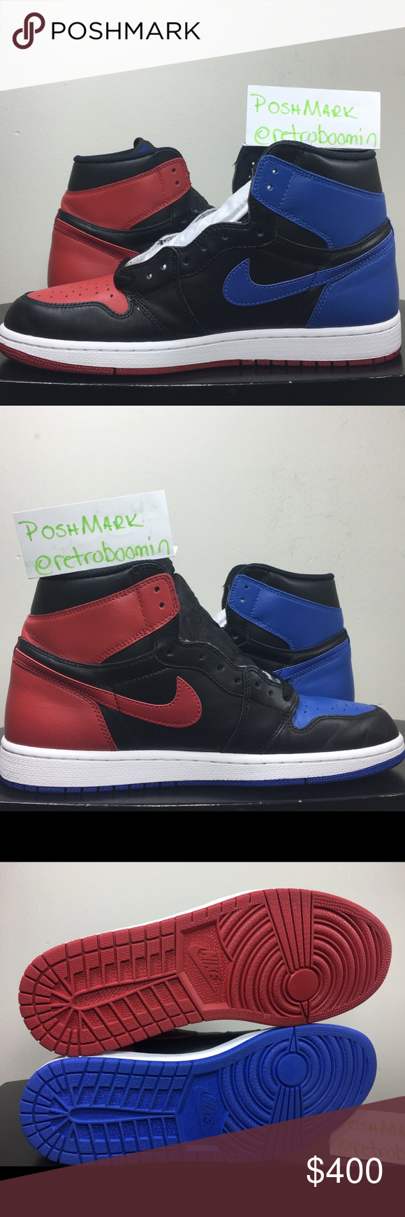 aef0e883ea8d Nike Air Jordan 1 Retro OG High Top 3   SEE SECOND LISTING FOR ADDITIONAL