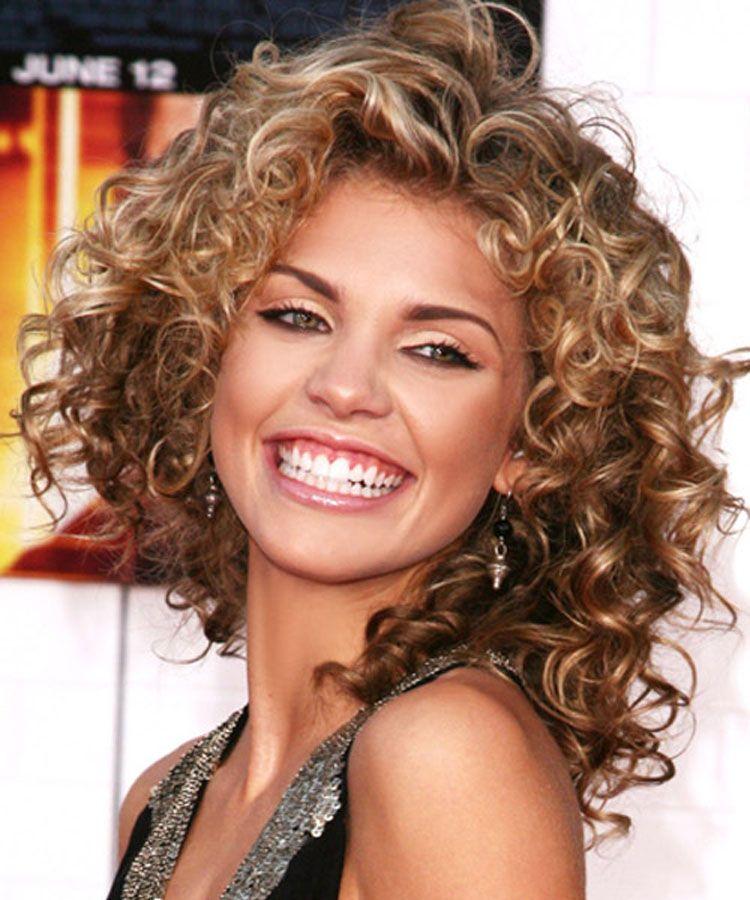Medium Length Curly Haircut Ideas for women | Fashion | Pinterest ...