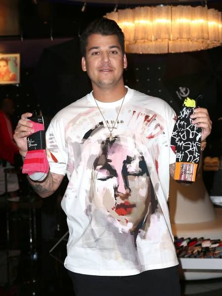Bekend Rob Kardashian Sock Line | That Socks! Rob Kardashian's Luxury &GN23