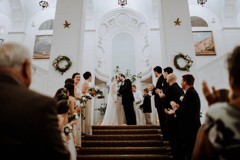Tricia u david american swedish historical museum wedding