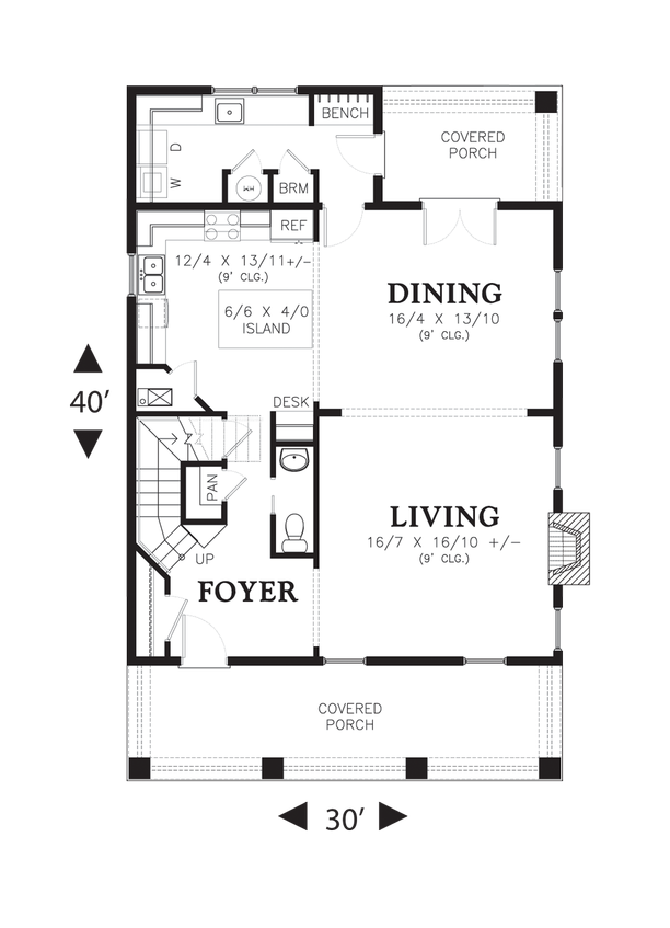 Mascord House Plan 22172b The Berkshire Colonial House Plans Beach House Floor Plans House Plans