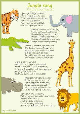 Jungle Activities On Pinterest Preschool Themes