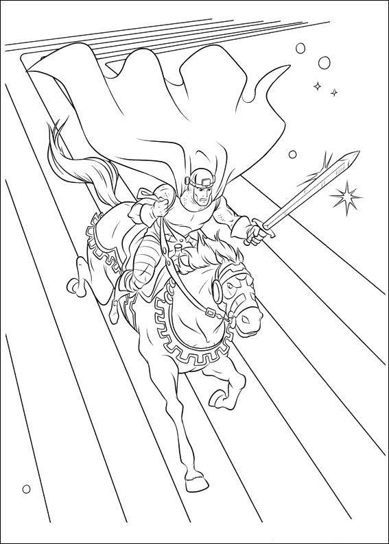 Dibujos para Colorear Thor 4