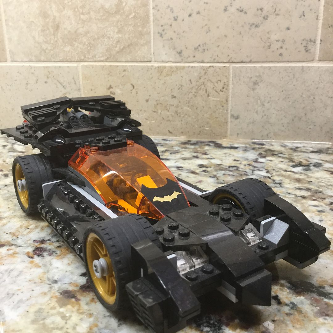 The Batmobile from The Riddler Chase set (76012) this is