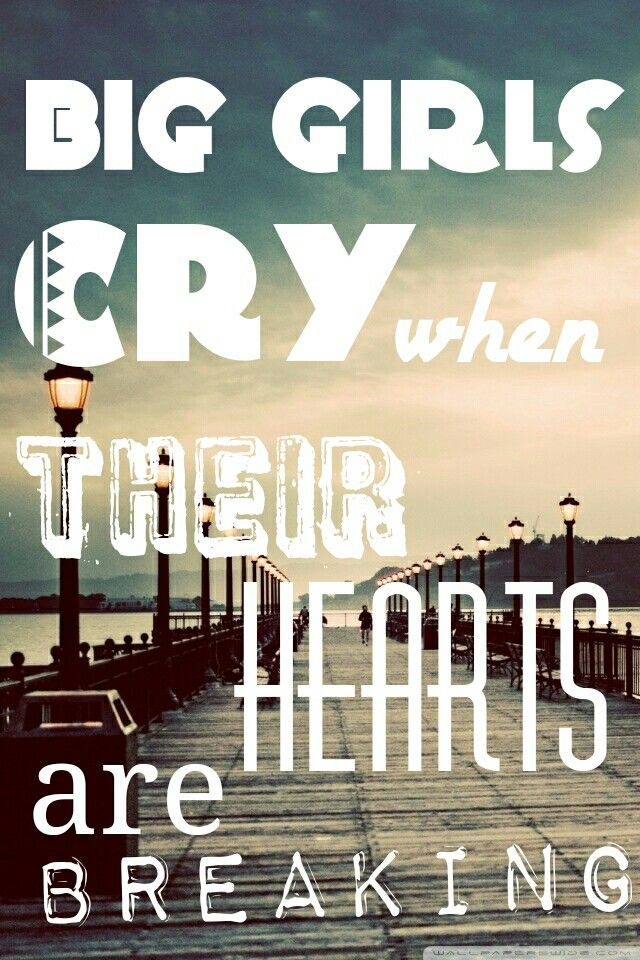 Lyric pretty girls lyrics : And I don't care if I don't look pretty, cause big girls cry when ...