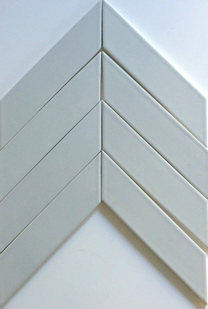 Kiln Chevron Silver Fox Gray Ceramic Tile Our Ceramic Chevron