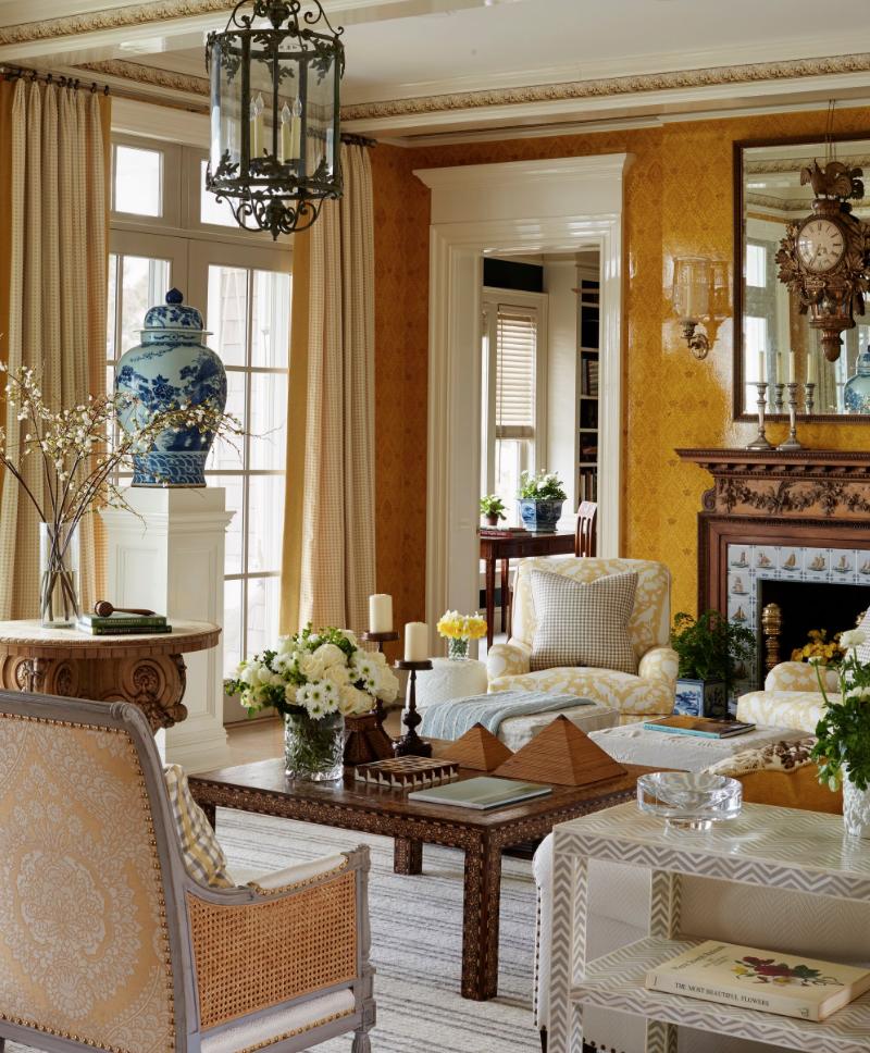 stunning east hampton living room design | House Tour: Marshall Watson's East Hampton Home | Living ...