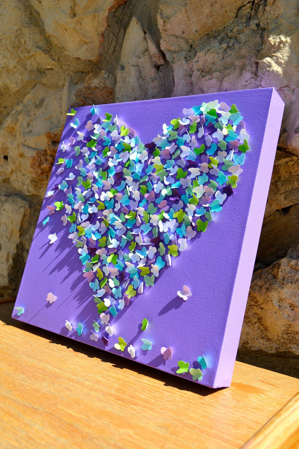 3d Create Your Own Room: 3D Butterfly Wall Art At Etsy - Diy It!!!