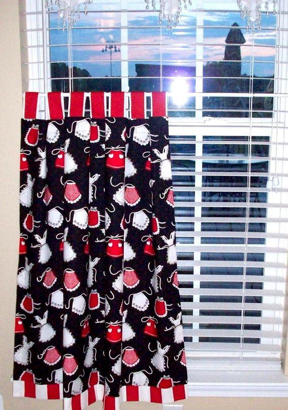 Black White Kitchen Curtains 2 New Ideas