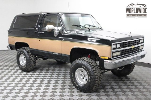 1989 Chevrolet Blazer Restored Ac Convertible Rare 89 Model In