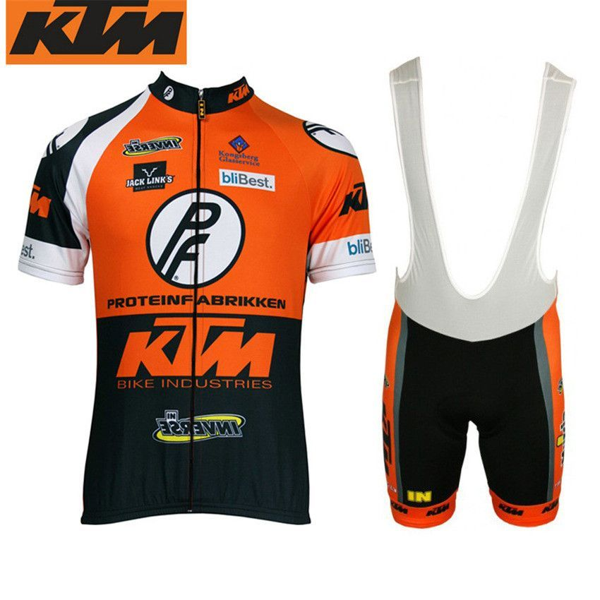 3c9f8f88f 2016 Quick Dry Mans Racing Bike Ktm short sleelve Clothing  Breathable MTB  Bicycle Cycling Jerseys Ropa Ciclismo Sportswear set