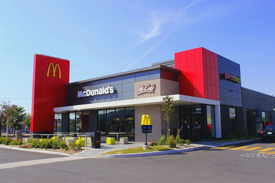 Modern mcdonald 39 s restaurants strip mall ideas for Lawton architectural products
