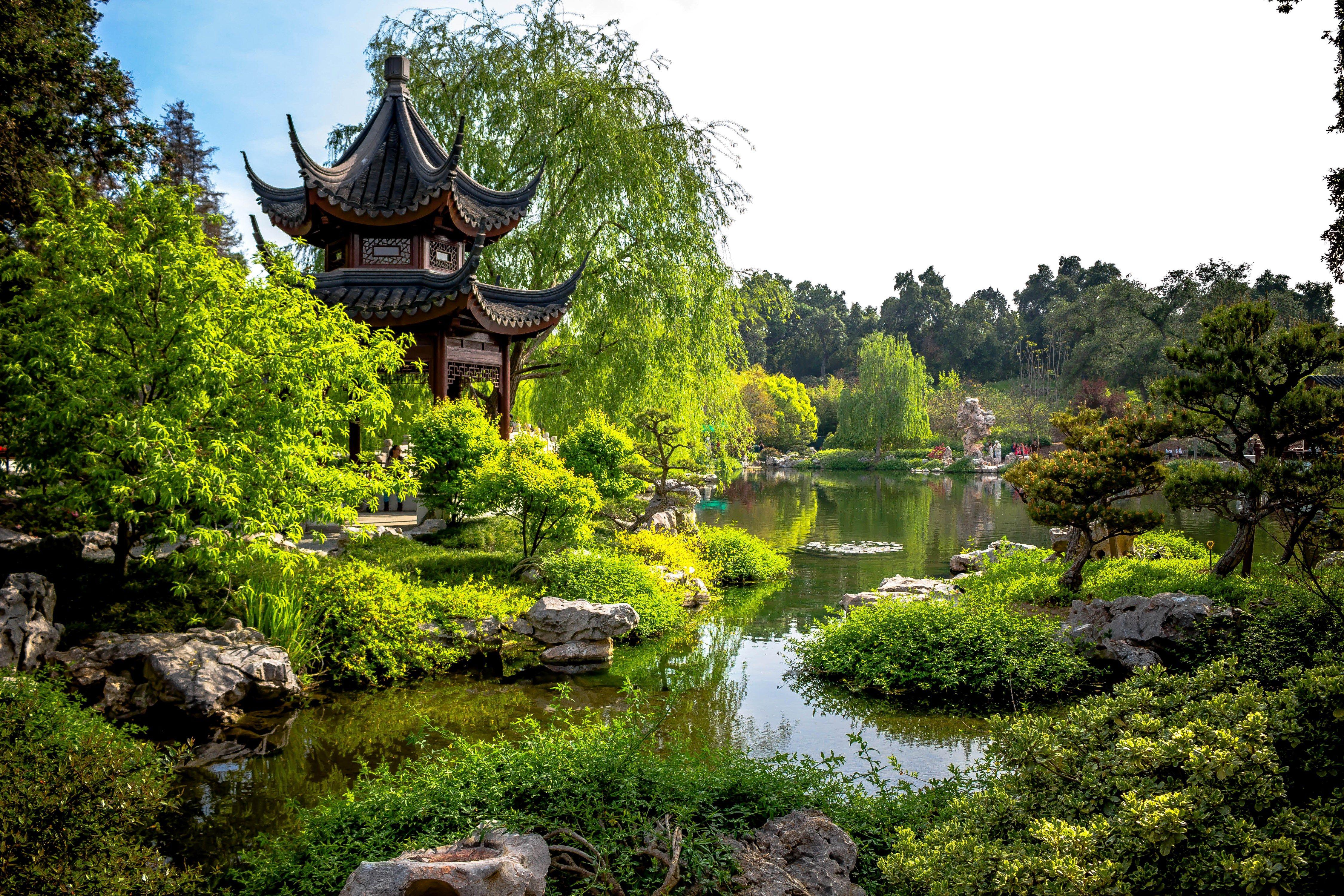 free desktop wallpaper downloads japanese garden Pagode