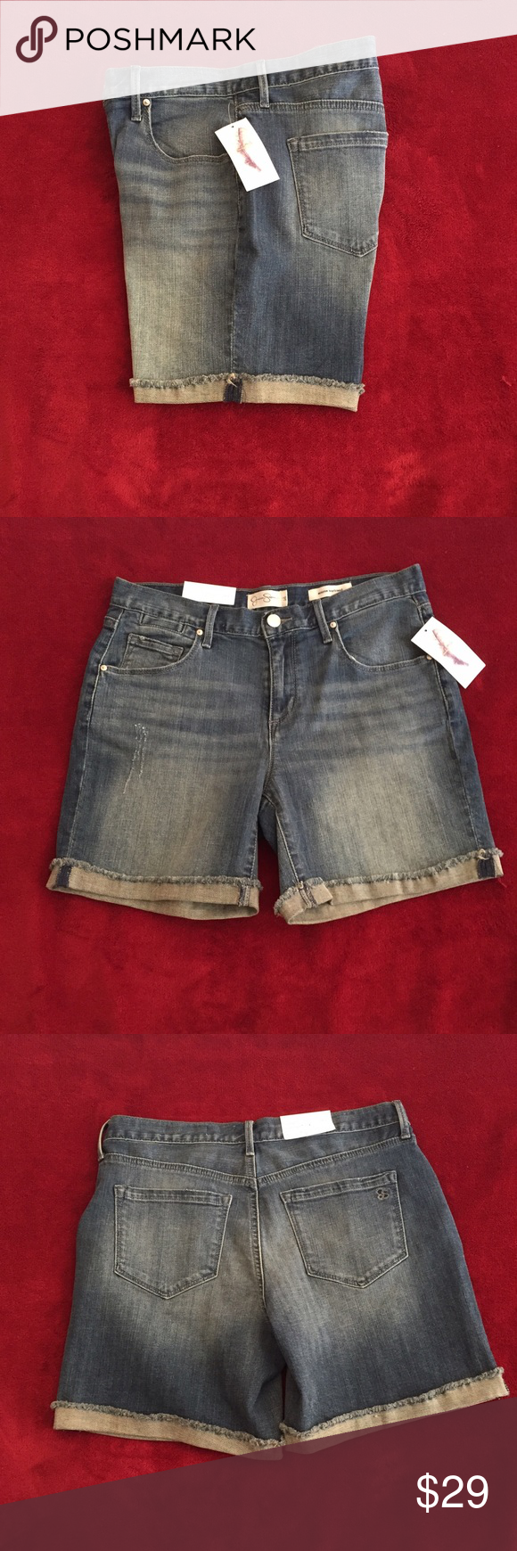 Jessica Simpson Monroe boyfriend shorts 26 Size 26 Monroe boyfriend shorts. Macy's Jessica Simpson MSRP$ 49 bundle and save 15 %  please comment if you have any questions. Jessica Simpson Shorts Jean Shorts