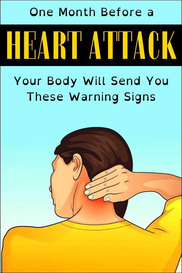 Photo of Einen Monat vor einem Herzinfarkt sendet Ihnen Ihr Körper diese Warnzeichen