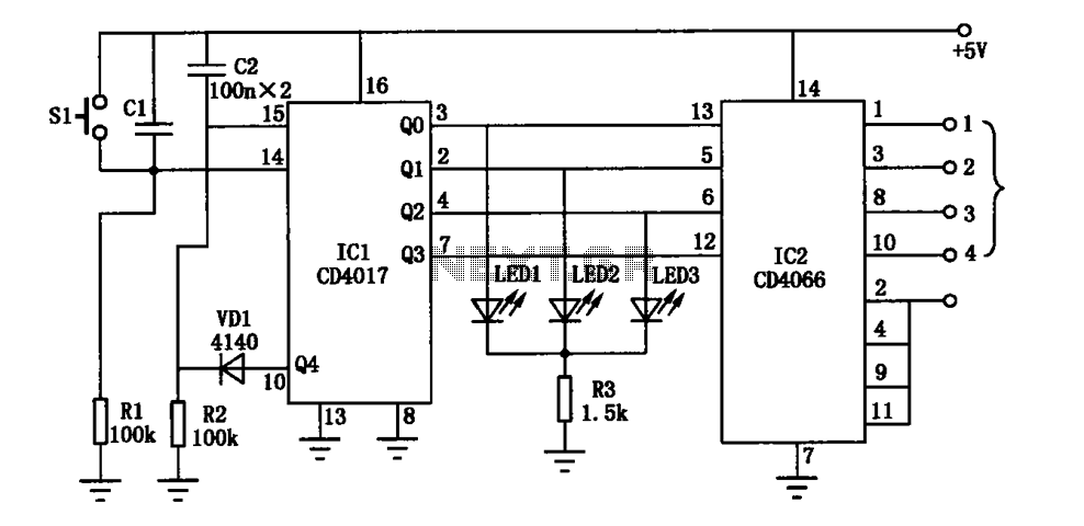 cl b audio amplifier circuit diagram