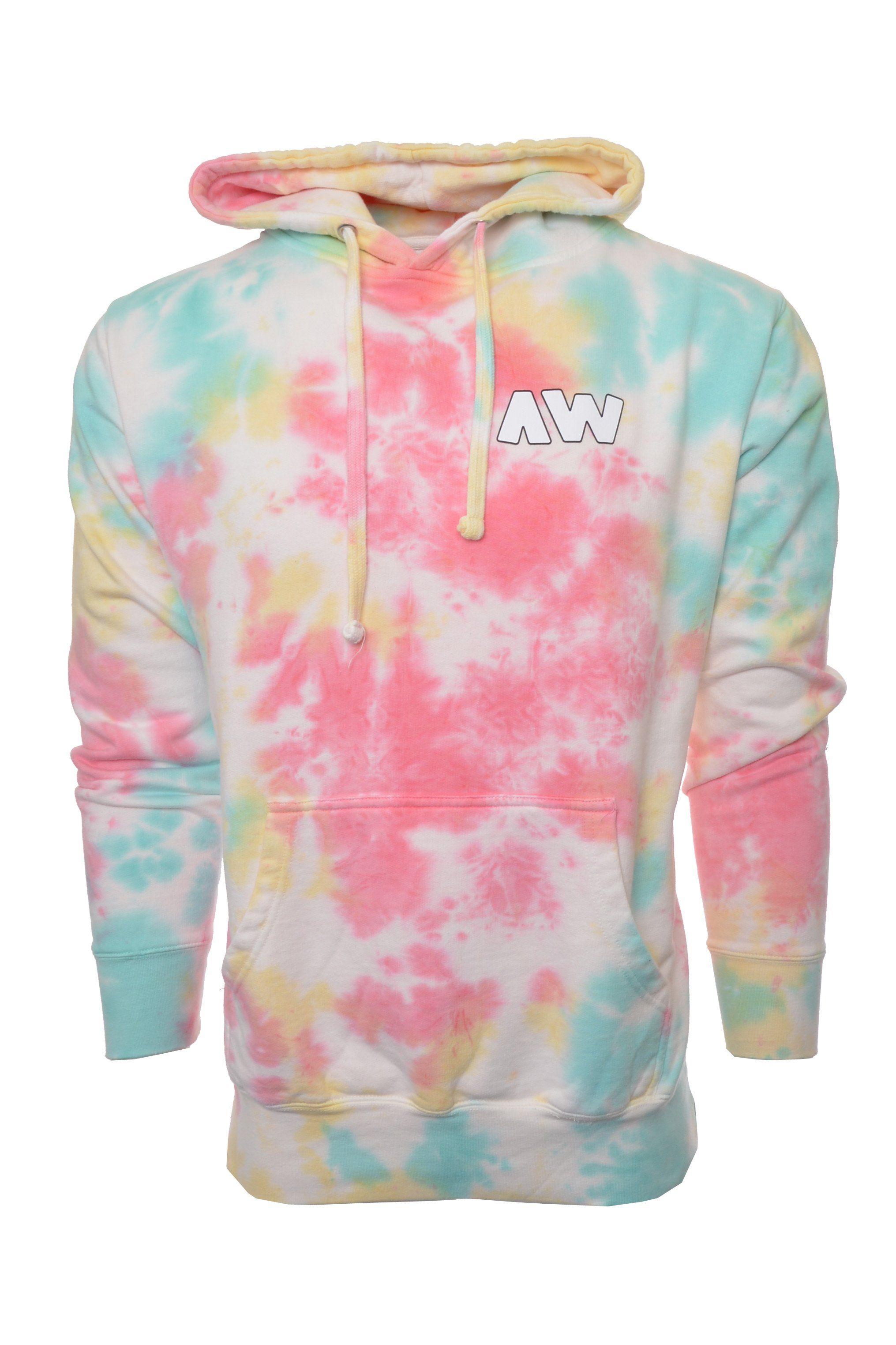 Aw Multicolor Tie Dye Hoodie Hoodies Alex Wassabi Sweatshirts Hoodie [ 3047 x 2031 Pixel ]