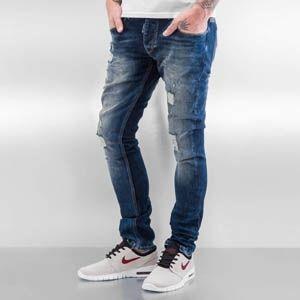 Pantalones Vaqueros Rotos Para Hombre Los Novedosos Vaqueros Jeans Rotos Para Hombre Y Su Exclusivo Dise Jeans Pants Fashion