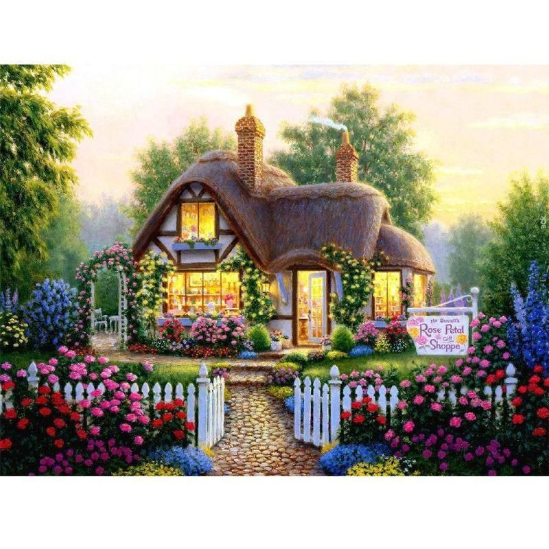 Photo of 5D Diamond Painting Mini Cottage Collection