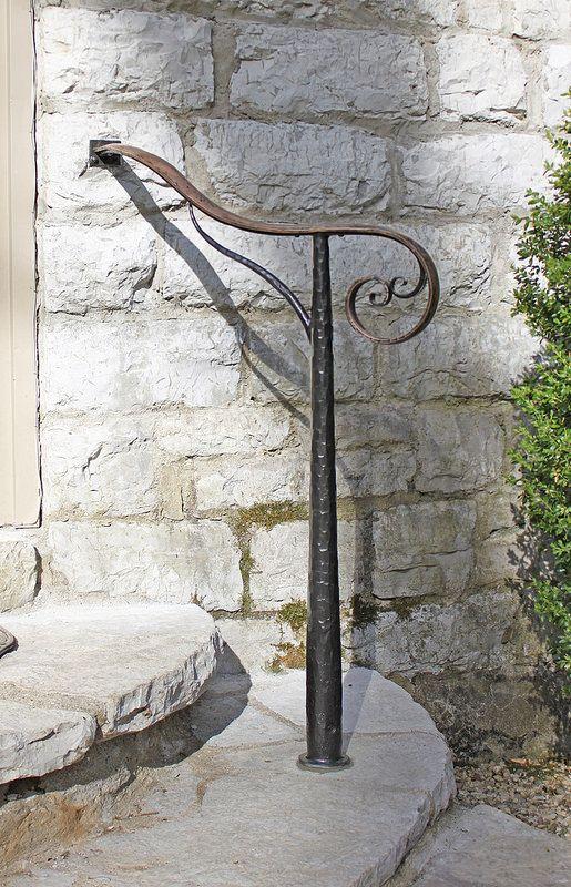 Best Bronze Steel Exterior In 2020 Outdoor Stair Railing 640 x 480