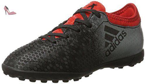 outlet store 10cc9 13ed0 adidas X Tango 16.3 Tf, Chaussures de Football Garçon, Noir (Core Black