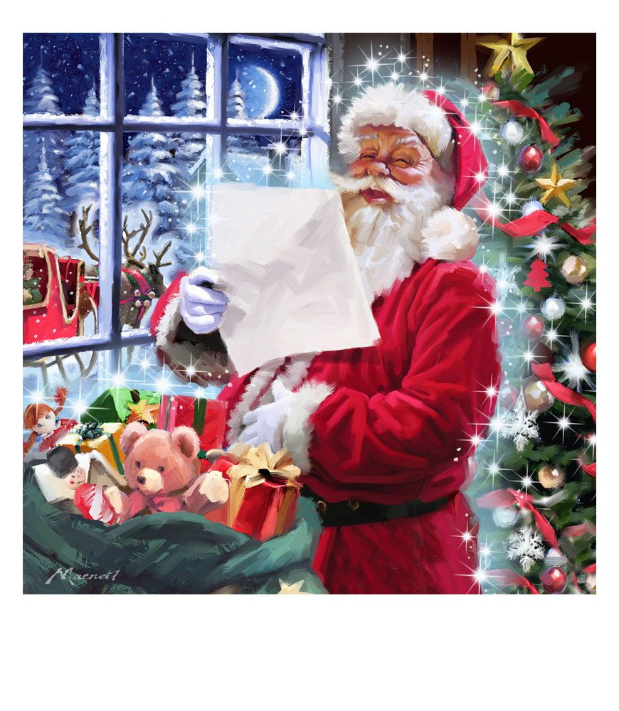 Santa the macneil studio santa claus pinterest santa santa the macneil studio jeuxipadfo Choice Image