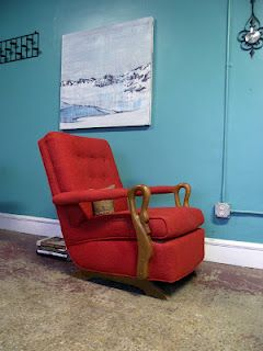Prime Mid Century Swan Arm Rocker Similar To The One Im Going Pdpeps Interior Chair Design Pdpepsorg