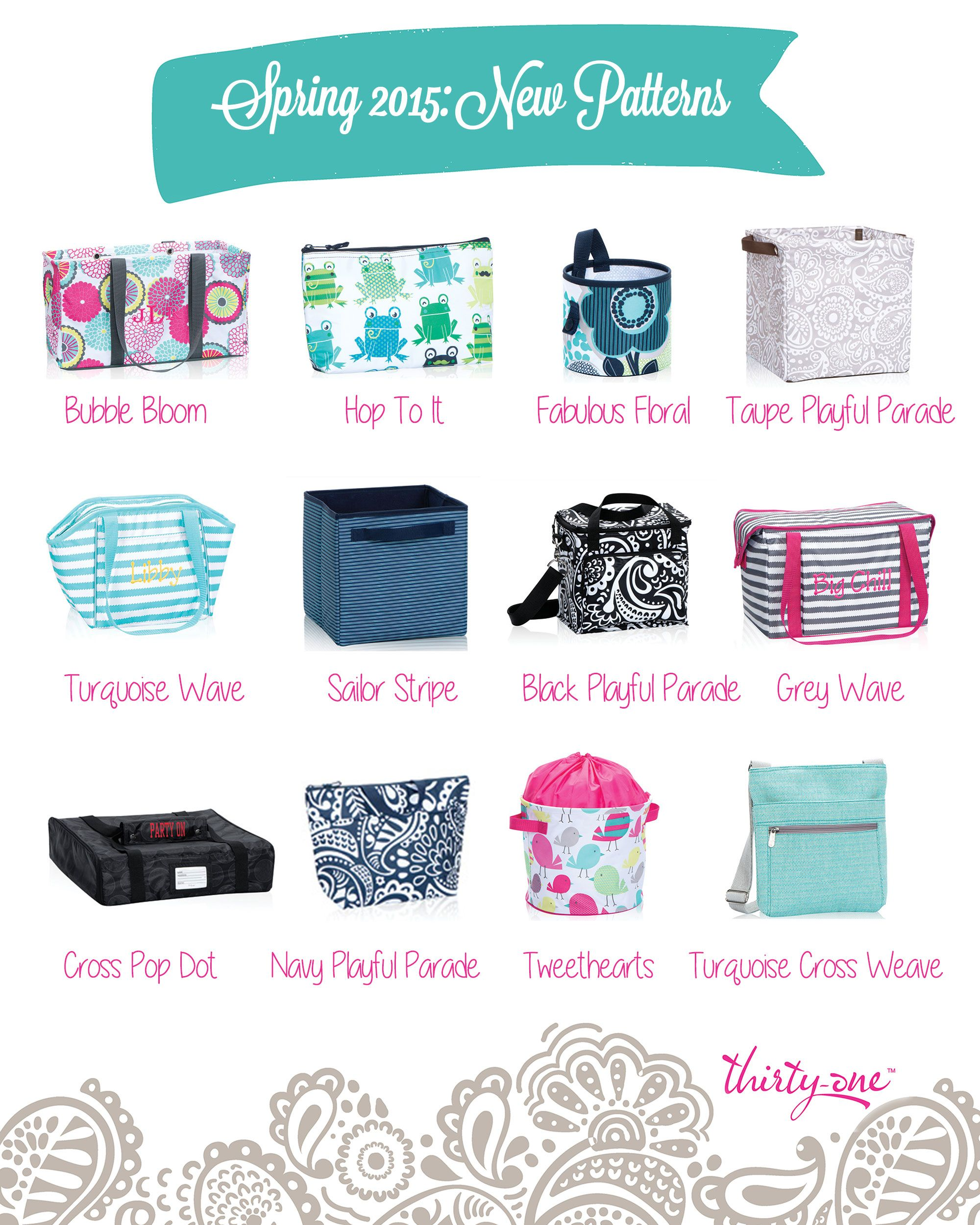 Thirty one november customer special 2014 - The New Thirty One Spring Summer 2015 Patterns I M Loving Me Some