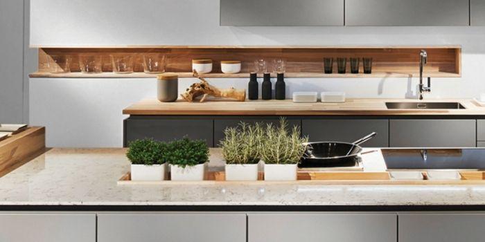 mini garten in der kuche, mini-garten in der küche – ein hit in der innenarchitektur #garten, Design ideen