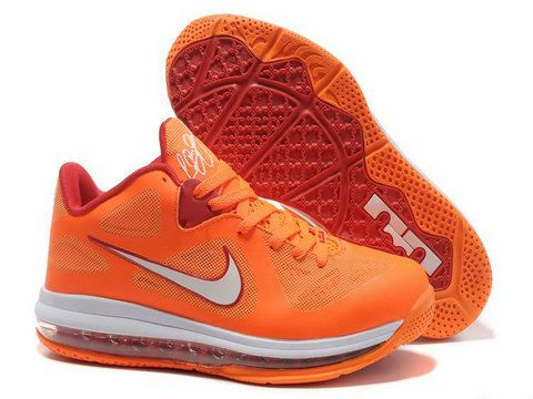 717af6eb3ee7 Nike LeBron 9 Low Miami Floridians Vivid Orange Cherry . Style Code   510811-800 The shoes is inspired by the Miami Heat s throwback jersey.