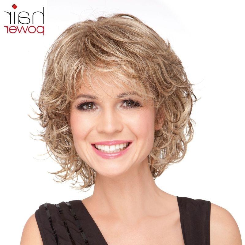 Moderne Frisuren Kurz Stufig Locken Hair Style Women Pinterest