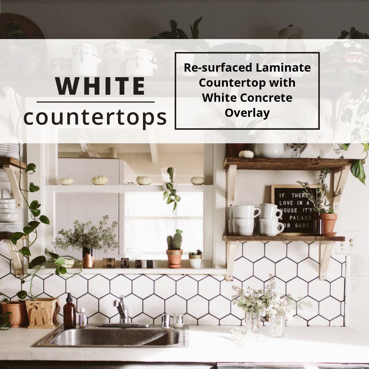Concrete Countertop Overlay Concrete Countertops White Concrete