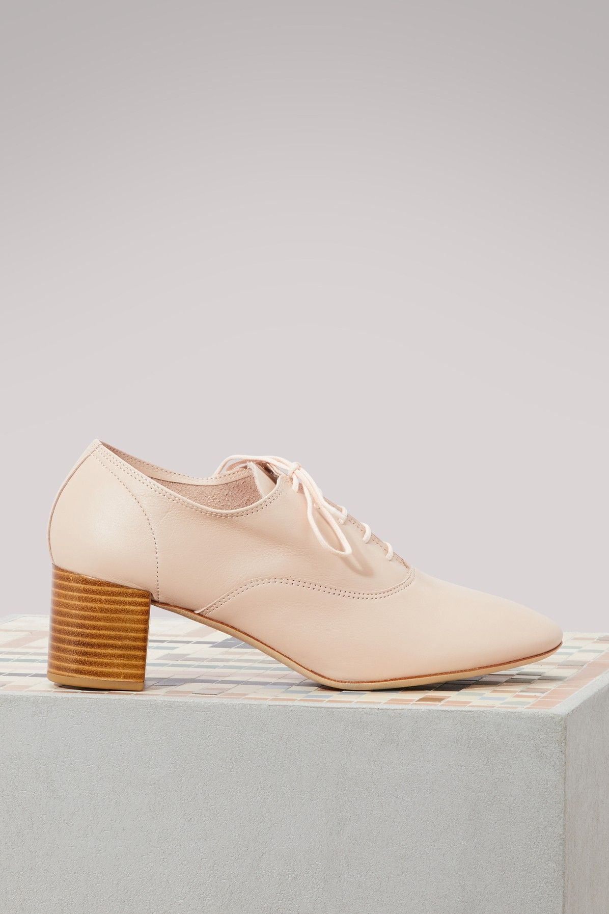 Repetto Fado brogues with heels Outlet Nicekicks QHVHJOr