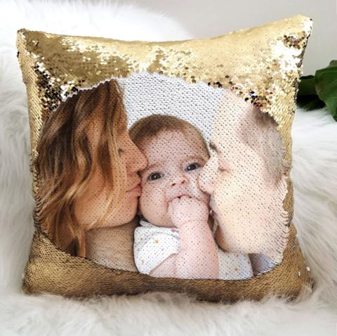 L/'amour de Personnalisé Custom Oreiller Coussin Cadeau Anniversaire Fête des mères