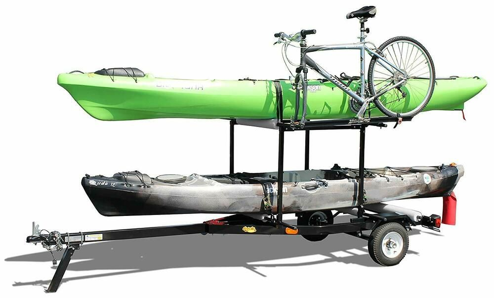 Details about MultiRack Kayak Trailer Durable Canoe
