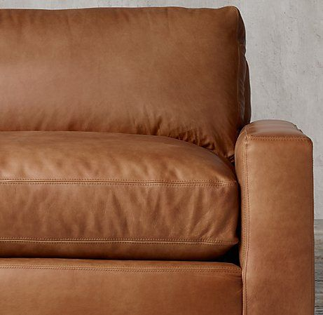 Maxwell Leather Sofa In 2019 Leather Sofa Cushions On Sofa Chaise Sofa