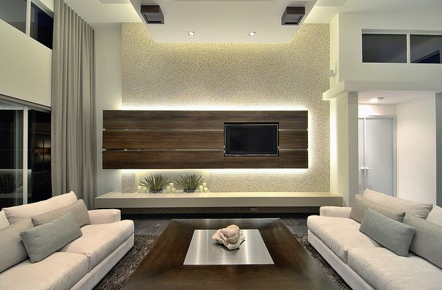 Living Room  Modern  Family Room  Miami  Michael Laurenzano Captivating Tv Cabinet Designs For Living Room Inspiration Design