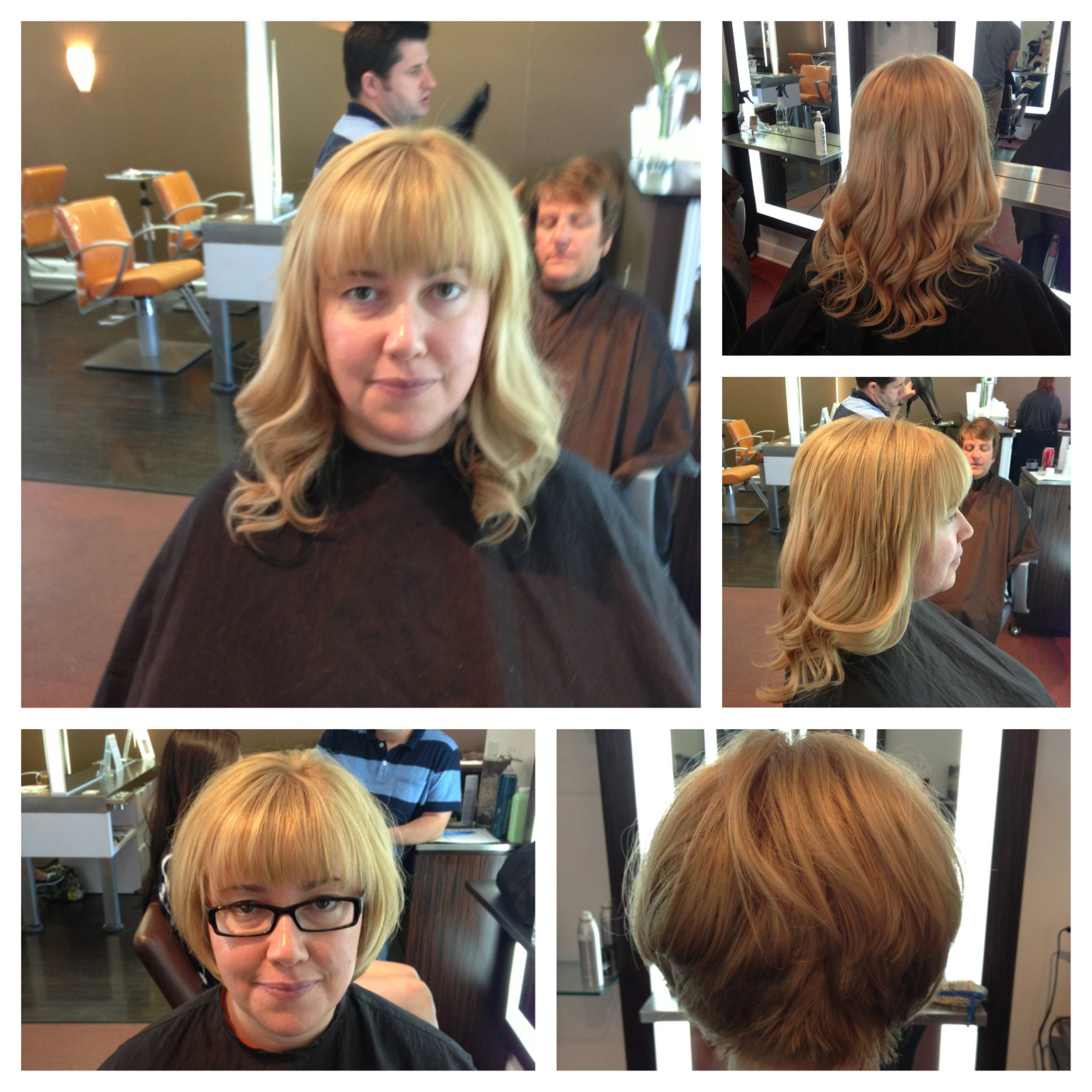 Hot Heads Hair Extension Before And After By Jacky Haircuttery