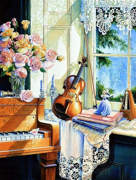 картинки с добрым утром со скрипкой его национальная